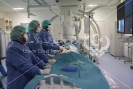 طبي طبرق يجري عمليات القسطرة