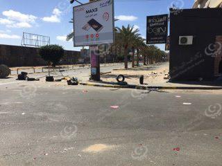 5 ايام من إغلاق الشوارع في حي الاندلس