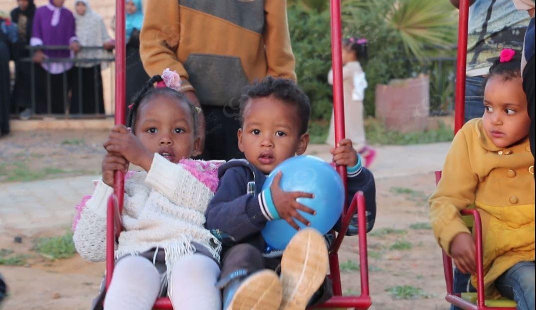حديقة ترفيهية لأطفال العوينات