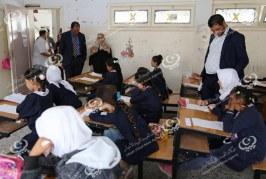 وزير التعليم يتفقد بعض مدارس أبو سليم