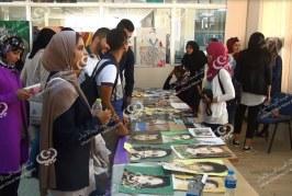 معرض خيري لصالح مرضى السرطان بجامعة بنغازي