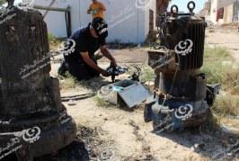 صيانة منظومة المياه والصرف الصحي بمدينة البريقة