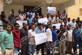 إضراب مفتوح لموظفي جامعة طبرق
