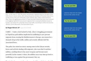 الواشنطن بوست: الحكومة المتعثرة في طرابلس دفعت أموال لمليشيات