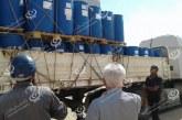 محطة زليتن لتحلية مياه البحر تشحن مواد تشغيل لمحطة طبرق