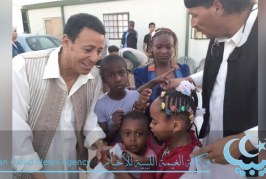 الأطفال بمخيمات النازحين وفرحة العيد