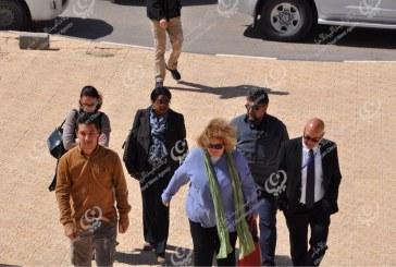منسقة الشؤون الإنسانية ببعثة الأمم المتحدة في ليبيا تزور مصراتة