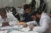 الصحة المدرسية تكشف على (155) تلميذا بمدرسة أبوبكر التهامي