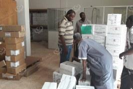 إدارة الخدمات الصحية سبها تباشر توزيع الأدوية على (19) مركزا صحيا بالمدينة