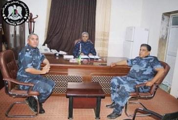 اجتماع الإدارة العامة للأمن المركزي المرج لمناقشة قرار داخلية المؤقتة بشأن تشكيل مناطق أمنية مقسمة بين المدن