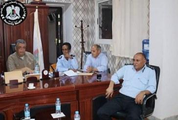 الاجتماع الثاني للمنطقة الأمنية الثالثة بمديرية أمن المرج