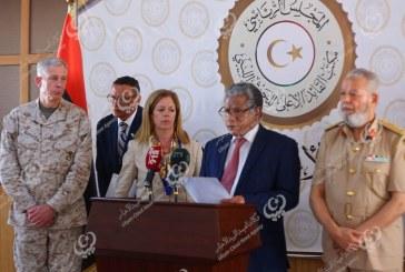 بيان صحفي للقائم بأعمال السفارة الأمريكية لدى ليبيا بطرابلس