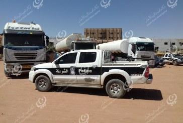 وصول عدد من شاحنات الوقود لمدينة سبها