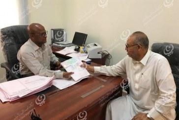 مكتب الخدمات المالية الواحات يباشر في توزيع حوافظ المرتبات على القطاعات ببلدية بجالو