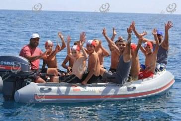 الاستعداد لبطولة ليبيا للسباحة في المياة المفتوحة