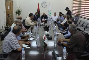 عقد الاجتماع الثاني لمسؤولي التدريب على مستوى بلدية بنغازي