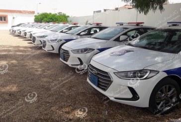 مديرية أمن سرت تستلم (10) سيارات من وزارة الداخلية بحكومة الوفاق الوطني