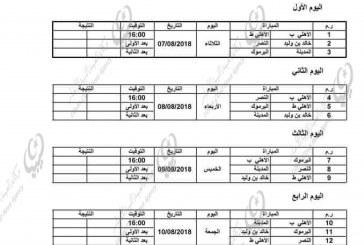 انطلاق نهائيات بطولة ليبيا في كرة السلة لفئة البراعم