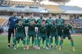 انتهاء الشوط الأول بالتعادل هدف لهدف من لقاء الأهلي طرابلس ضد الوداد البيضاوي