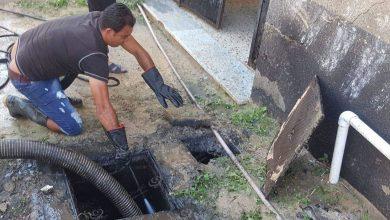 Photo of شفط وتنظيف غرف مياه الصرف الصحي بأبوكماش