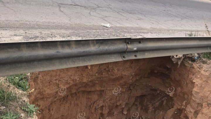 Photo of العامة لخدمات النظافة غريان تحذر المارين عبر طريق أبورشادة بسبب جرف مياه الأمطار