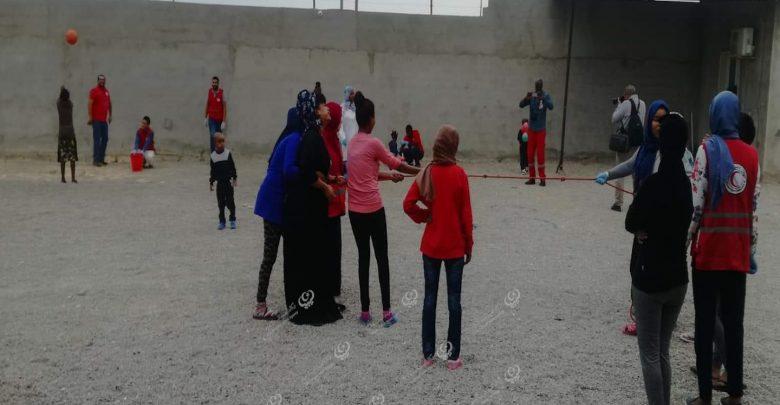 Photo of يوم ترفيهي للأطفال النزلاء بمركز إيواء المهاجرين زوارة