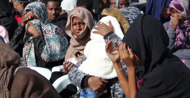 Photo of احتفالية مركز إيواء تاجوراء في اليوم العالمي للمهاجر