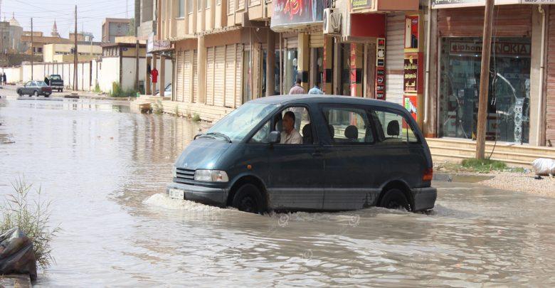 Photo of شركة المياه والصرف الصحي بالجميل تعالج أنابيب الصرف الصحي