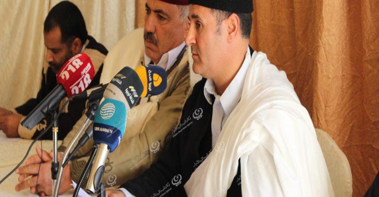 Photo of عقد الاجتماع الجامع لجميع قبائل مدينة العجيلات