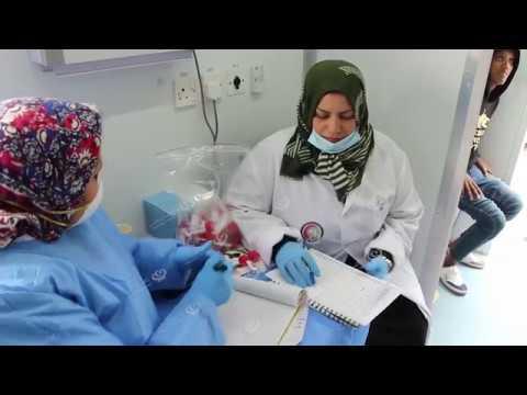 Photo of انطلاق برنامج المسح الوطني الصحي بمراكز إيواء المهاجرين