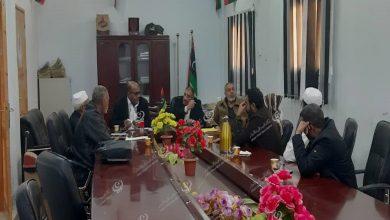Photo of اجتماع بخصوص توزيع السيولة النقدية بسبها