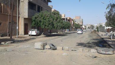 Photo of تنظيف الشوارع  من مخلفات الصرف الصحي في محلة المهدية بسبها
