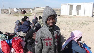 Photo of إنقاد 113 مهاجرا غير نظامي شمال مدينة الخمس
