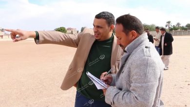 Photo of لجنة المشروعات بالهيئة العامة للشباب والرياضة تزور نادي الصحاري إجخرة