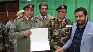 Photo of طبي طبرق يُكرم آمر منطقة طبرق العسكرية