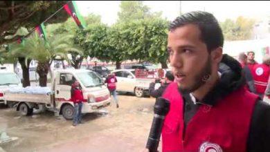 Photo of الهلال الأحمر الليبي يقدم مساعدات إغاثية للمتضررين من سقوط الأمطار