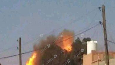 Photo of انفجار في ورشة المواصلات بمزدة