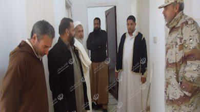 Photo of المجلس البلدي نسمة وأعضاء اللجنة الأمنية  يتفقدون المقرات الأمنية بالمدينة