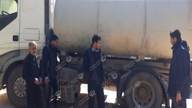 Photo of ضبط شاحنة لنقل مياه مسروقة بعد التعميم عليها في توكرة