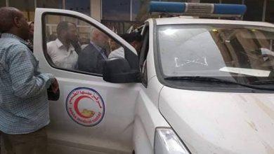 Photo of دهس أحد العاملين بشركة الكهرباء بالسيارة أثناء عمله في سبها