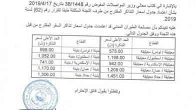 Photo of مصلحة الطيران المدني تعتمد الأسعار الجديدة لتذاكر شركات الطيران