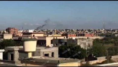 Photo of طيران حربي يقصف بعض المواقع في وادي الربيع
