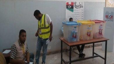 Photo of تواصل الاقتراع لانتخابات المجلس البلدي براك الشاطئ