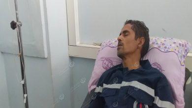 Photo of نقابة عمال كهرباء سبها تتابع حالة فني الشركة الذي تعرض للدهس