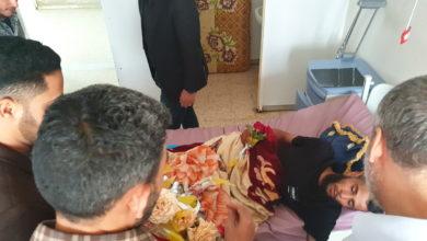 Photo of وفد شبابي يزور مستشفي ترهونة