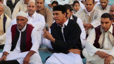 Photo of أهالي إجخرة يؤدون شعائر صلاة عيد الفطر المبارك