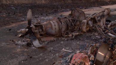 Photo of وزير المواصلات بحكومة الوفاق يطلع على آثار قصف مطار معيتيقة الدولي