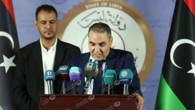 Photo of مؤتمر صحفي مشترك لمدير مركز طب الميدان والدعم ورئيس جهاز الإسعاف الطائر بطرابلس