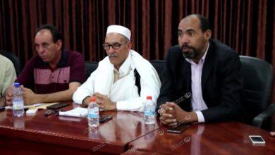 Photo of مراسم التسليم والاستلام للمجلس البلدي براك الشاطئ