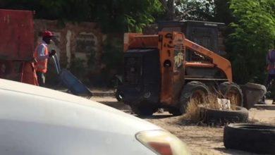 Photo of حملة نظافة داخل نطاق بلدية سوق الجمعة